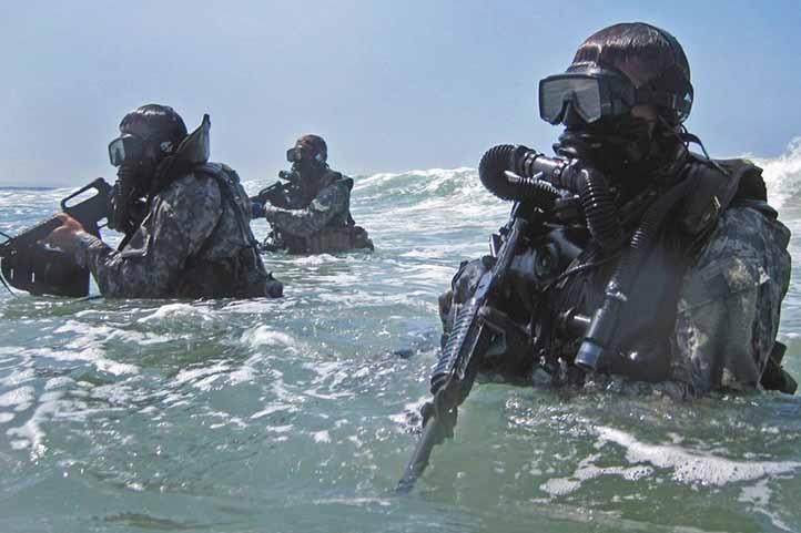 หน่วย Seal หน่วยทำลาย ชุดจู่โจมใต้น้ำ